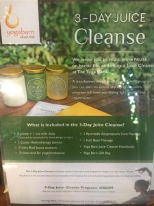 juice cleanse yoga barn bali